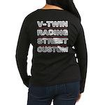 Vrsc Front & Back On Women's Long Sleeve T