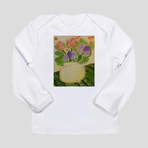 Pink Lavender Bouquet Long Sleeve T-Shirt