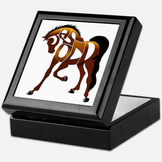 Jasper, the horse Keepsake Box