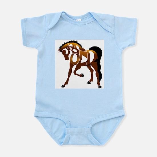 Jasper, the horse Infant Bodysuit