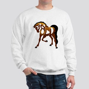 Jasper, the horse Sweatshirt