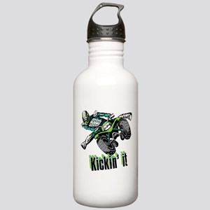 atv Quad kick Water Bottle