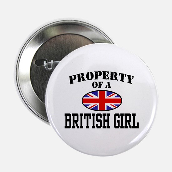 Property of a British Girl Button