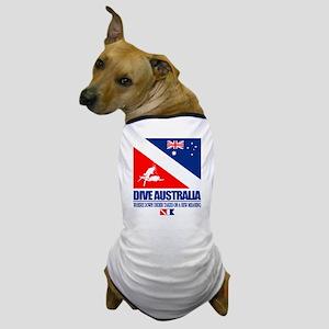 Dive Australia 2 Dog T-Shirt