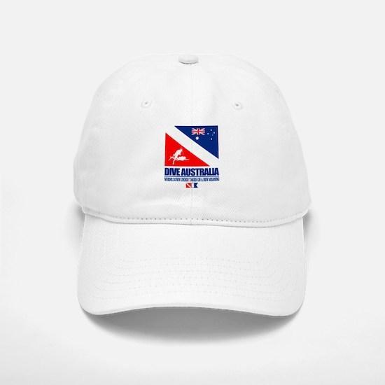 Dive Australia 2 Baseball Baseball Baseball Cap