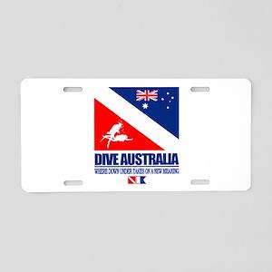 Dive Australia 2 Aluminum License Plate
