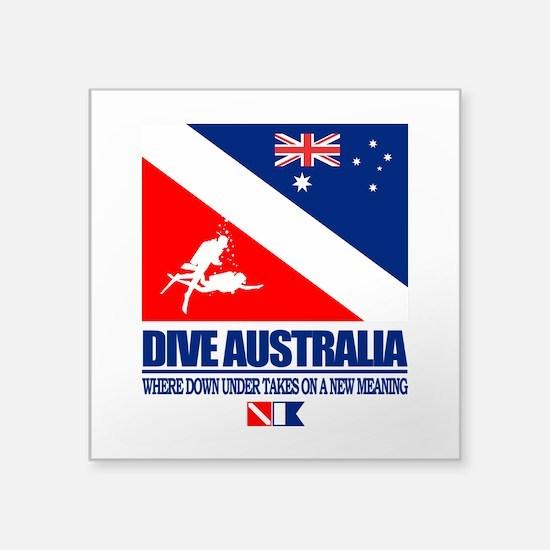 Dive Australia 2 Sticker
