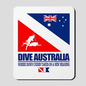 Dive Australia 2 Mousepad