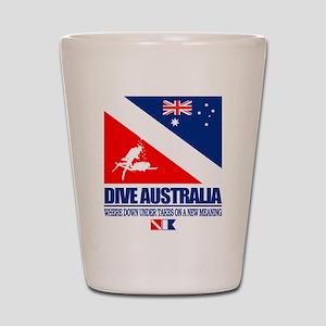 Dive Australia 2 Shot Glass