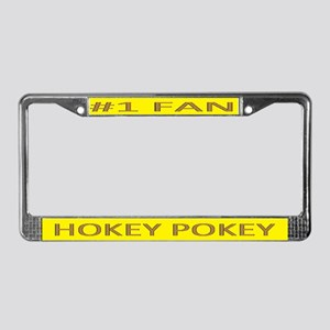 Hokey Pokey License Plate Frame