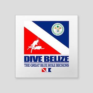 Dive Belize Sticker
