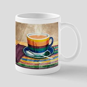 Rainbow Cafe Cup Mug