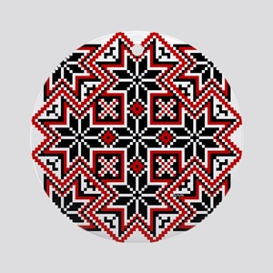 Folk Design 8 Ornament