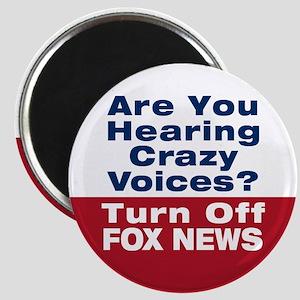 Turn Off Fox News Magnet
