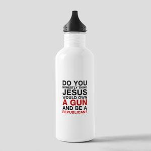 Jesus Is Not A Gun-Toting Republican Water Bottle