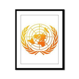 United Nations 2 Framed Panel Print