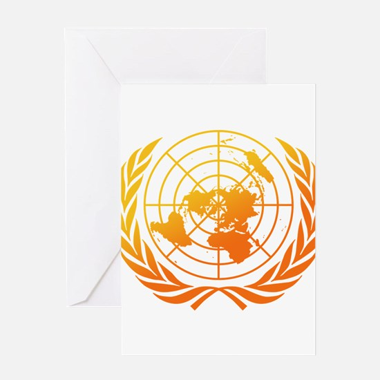 United Nations 2 Greeting Card
