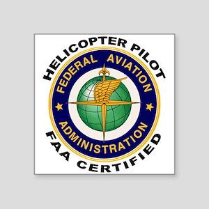 FAA Certified Helicopter Pilot Sticker