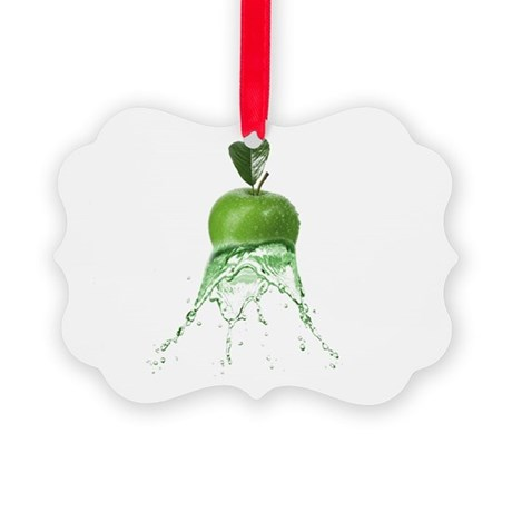 Water Apple Picture Ornament