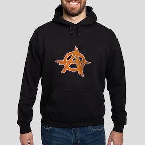 Anarchist Inlay Hoodie (dark)