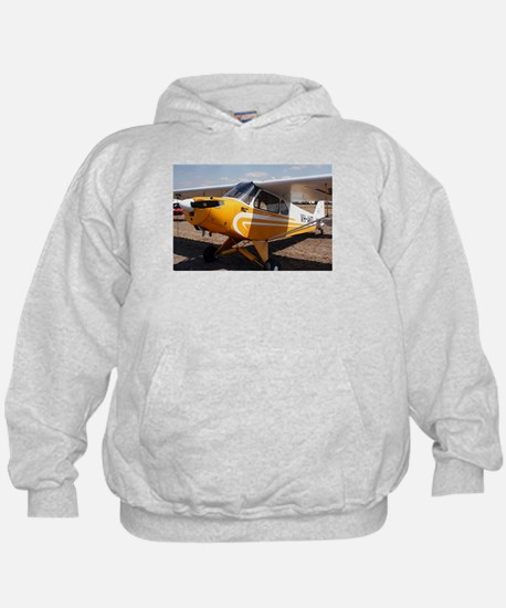 Piper Cub Aircraft (yellow & white) Hoodie