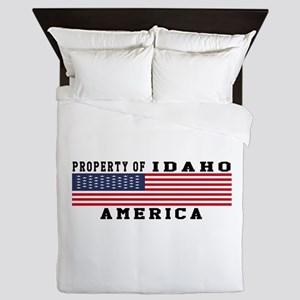 Property of Idaho Queen Duvet