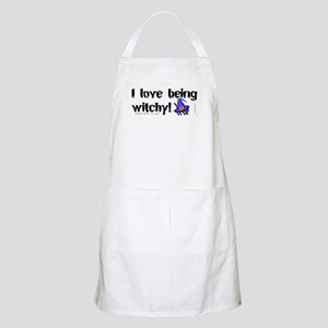 Being Witchy (text) BBQ Apron