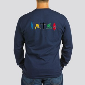 Mens Gymnastics Long Sleeve T-Shirt
