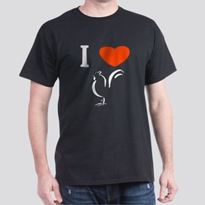 I love cock Dark T-Shirt