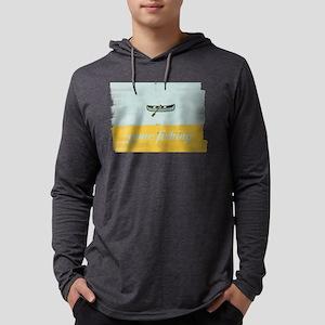 Gone Fishing Mint Watercolor Mens Hooded Shirt