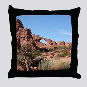 Arches National Park, Utah, USA Throw Pillow