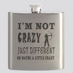 I'm not Crazy just different Archery Flask