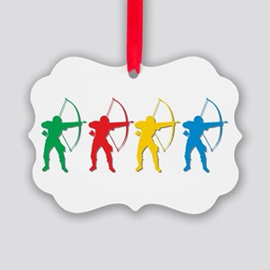 Archery Archers Ornament