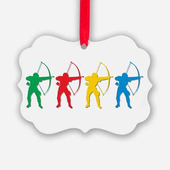 Archery Archers Ornament