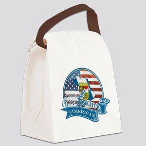 Proud Bavarian American Canvas Lunch Bag