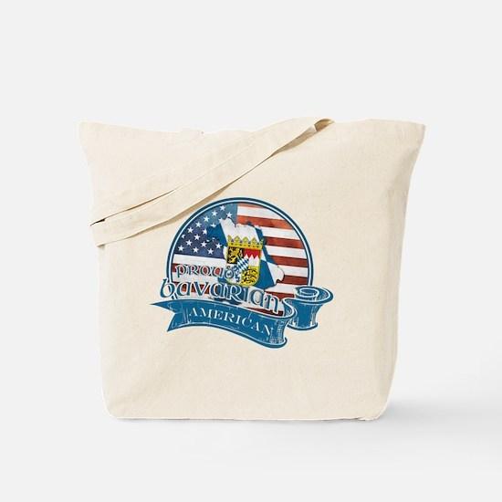 Proud Bavarian American Tote Bag