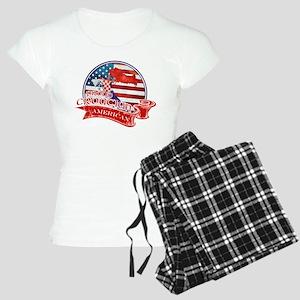 Proud Croatian American Pajamas