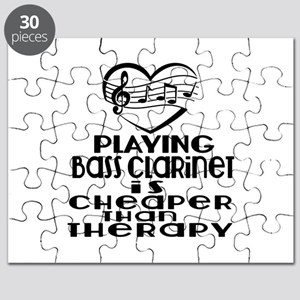 Bass Clarinet Is Cheaper Than Therapy Puzzle