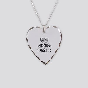 Bass Clarinet Is Cheaper Than Necklace Heart Charm
