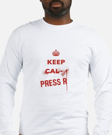 Keep Calm and Reload Long Sleeve T-Shirt