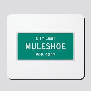 Muleshoe, Texas City Limits Mousepad
