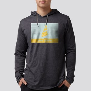 Cute Gone Surfing Watercolor Mens Hooded Shirt