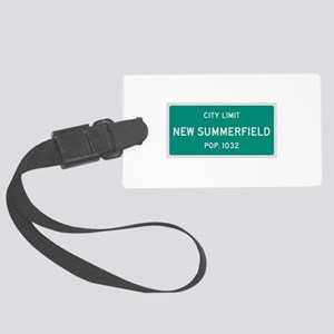 New Summerfield, Texas City Limits Luggage Tag