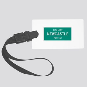 Newcastle, Texas City Limits Luggage Tag