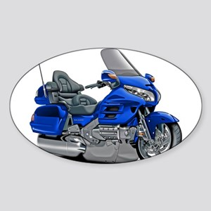 Goldwing Blue Bike Sticker