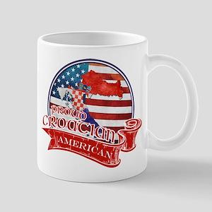 Proud Croatian American Mug