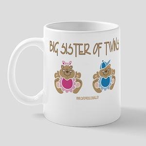 Big Sister Of Twins (boy/girl) Mug