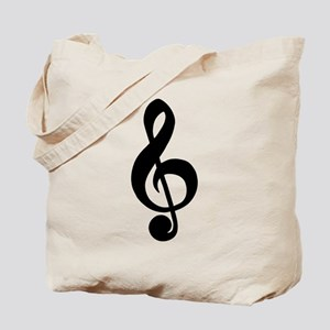 musician,treble clef Tote Bag