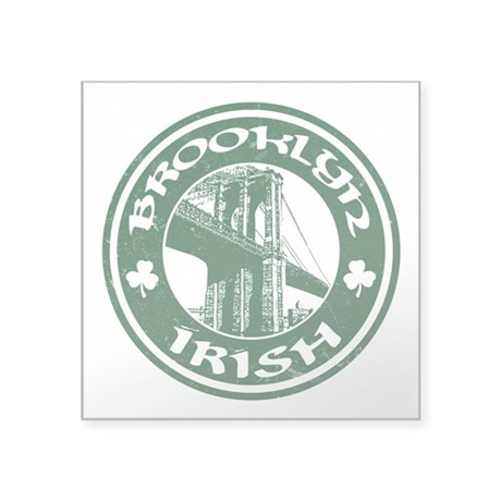 Brooklyn NY Irish Sticker