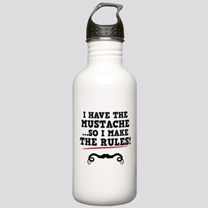 Mustache Rules Stainless Water Bottle 1.0L